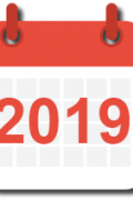 icone calendrier 2019