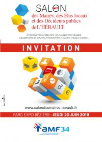 Invitation 2019 salon des maires